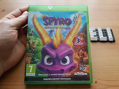 SPYRO Reignited Trilogy - Xbox One Game - FAST POST