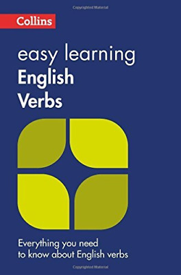 Easy Learning English Verbs BOOK NEW