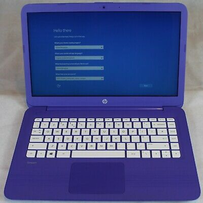 "HP Stream 14"" Intel Celeron N 1.6Ghz 4GB RAM 32GB SSD Cheap Laptop Notebook PC"