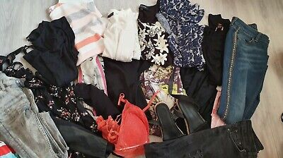 bundle clothes SIZE 8 10  RIVER ISLAND dress Topshop Zara jeans 1 DAY LISTING