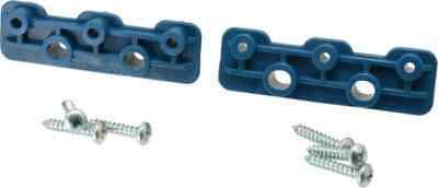 "Loc-Line 1/4"" Hose Modular Manifold Brackets w/ screws 2 Piece packl #21195"