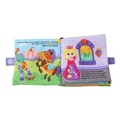 Educational Intelligence Development Soft Cloth Cognize Book Toy For Baby Kids Z