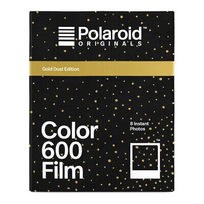 Polaroid Originals 600 Film Gold Dust Edition (8 Exposures)