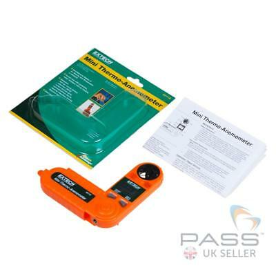*NEW* Extech 45118 Mini Thermo Anemometer / Genuine UK Stock