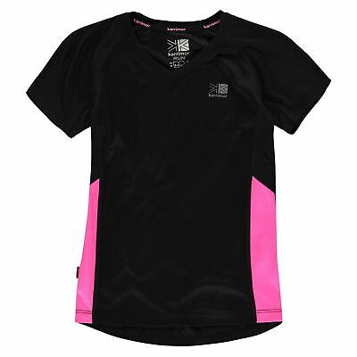 Kids Girls Karrimor Short Sleeved Running Top Sleeve Performance Shirt New