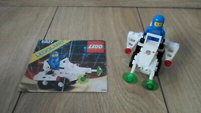 1x Cockpit Space Nose Classic Space Logo Pattern 2336p90 White//Blanc//Weiss Lego