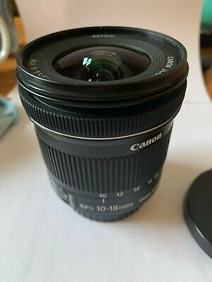 Canon EF-S 10-18mm F/4.5-5.6 IS STM Wide-Angle Lens/ Slightly Used, Great Cond.