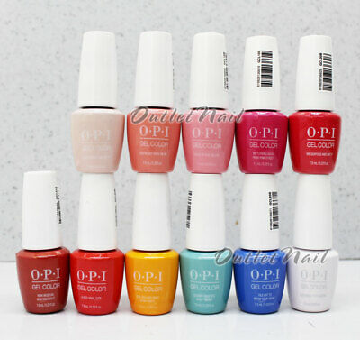 NEW Authentic 0.25oz / 7.5ml Mini OPI GelColor Soak-Off Gel Polish - ANY COLOR