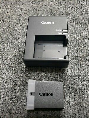 Canon Rebel T3-T5-T6-T7 Camera Battery Pack with Charger! LP-E10 & LC-E10