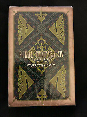 Final Fantasy XIV 14 FFXIV Shadowbringers Collectors Edition Playing Cards