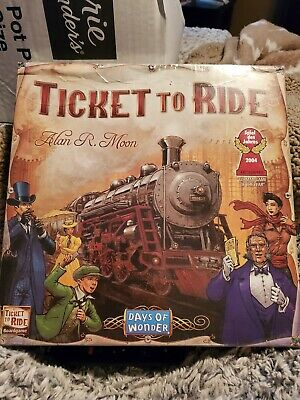 Ticket to Ride New Board Game Alan R. Moon Days of Wonder New Sealed