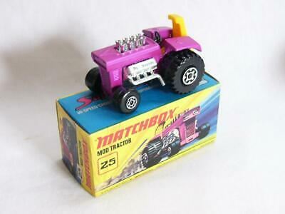 Repro Box Matchbox Superfast Nr.25 Mod Tractor