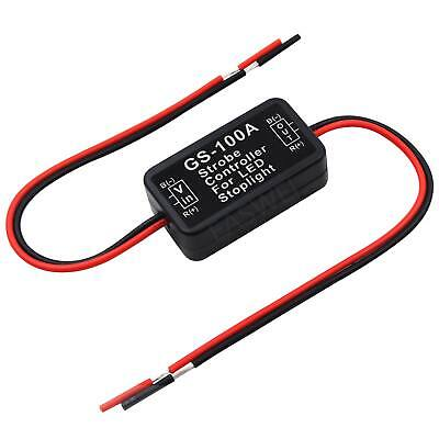 GS-100A LED Brake Stop Light Strobe Flash Module Controller Box For Car Vehicle