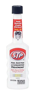 STP  Gasoline  Fuel injector/Carburetor Cleaner  5.25 oz.