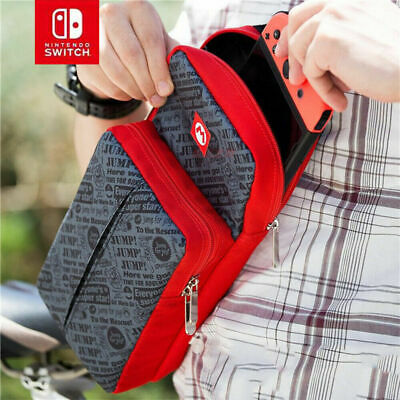 MarioTravel Carry Case Shoulder Bag for Nintendo Switch console Protective