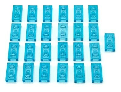 LEGO x 10 Trans-Light Blue Minifig Shield Oval Legends of Chima Ultra Agents