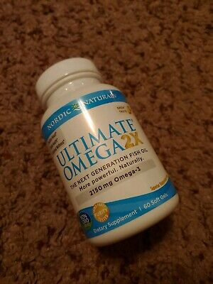 Nordic Naturals Ultimate Omega 2X - Lemon - 60 Softgels