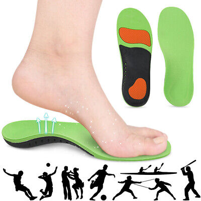 For Plantar Fasciitis Orthotic Shoe Inserts Flat Feet High Arch Support Insoles