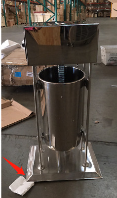 Uesd15L Commercial Electric Vertical Sausage Stuffer Stainless Steel Meat Filler