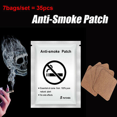 Anti-smoke 35 pieces Patches Stop Smoking Cigarette Nicotine Patches Sticker UK