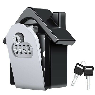 Key Lock Box,[Emergency Key] Wall-Mounted Combination Key Security Storage  U2C5
