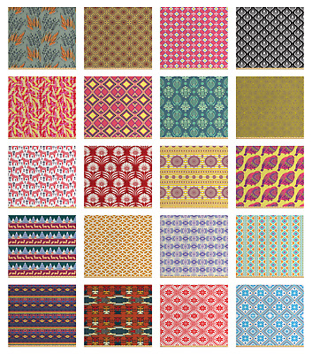 Ambesonne Ethnic Elements Fabric by the Yard Decorative Upholstery Home Accents