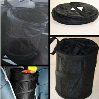 Car Trash Can Portable Waste Garbage Bin Collapsible Pop-up Mini Rubbish Basket