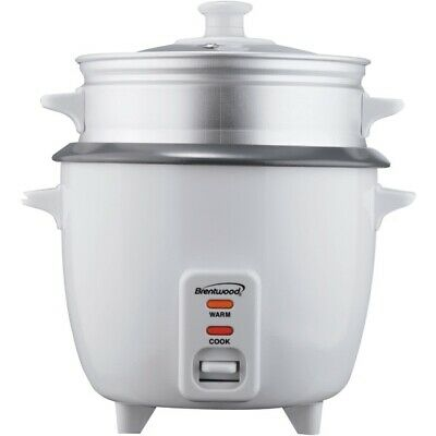 BRENTWOOD APPLIANCES TS-600S Brentwood Appliances Rice Cooker with Steamer (5...