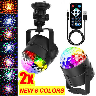 ✅AU New Disco Party DJ LED RGB Stage Effect Light Lamp Laser Crystal Magic Ball✅