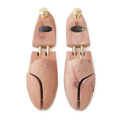 Premium Cedar Shoe Trees Spring Loaded from Edwards of Manchester