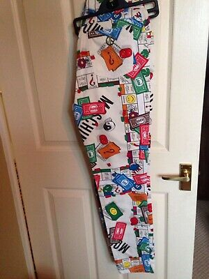Very rare Moschino Monopoly jeans size 31 unisex