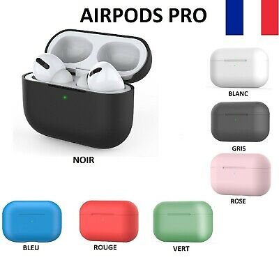 Etui Coque Case Protection Housse Silicone Antichoc Ecouteur Apple AirPods Pro