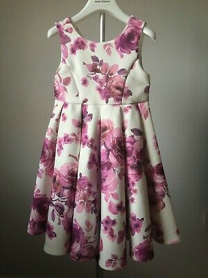 Girl MONSOON Floral Party Dress Age 5Y