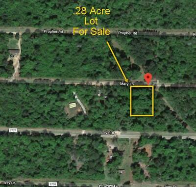 1/3 ACRE COUNTRY LOT- CLEVELAND TX * RV OK - High-Bid Wins No Reserve