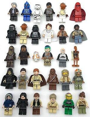 Lego New Star Wars Minifigures Han Solo Obi Wan Kenobi Akakin Skywalker YOU PICK