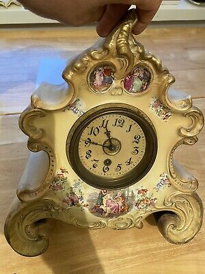Antique Clock, Vintage Clock, House Clearance, Beautiful Old Clock