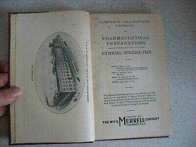 EARLY ORG  PHARMACEUTICAL PREPARATIONS & Ethical Specialties MERRELL CO catalog