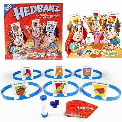What Am I? Header Card Game Guess With Children Family WHO Traditional Head Band