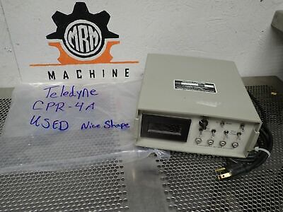 Teledyne CPR-4A Hastings Flowmeter Unit Used With Warranty