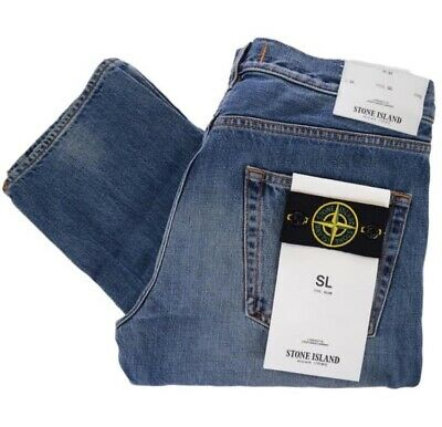 Stone Island Junior Slim Fit Jeans New With Tags