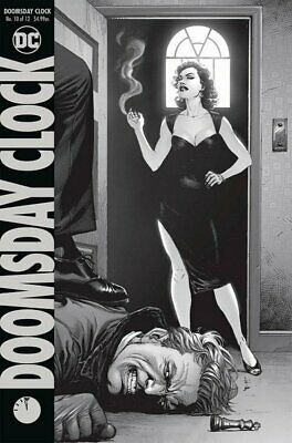Doomsday Clock (2017 Ltd) #  10 Near Mint (NM) (CvrA) DC Comics MODERN AGE