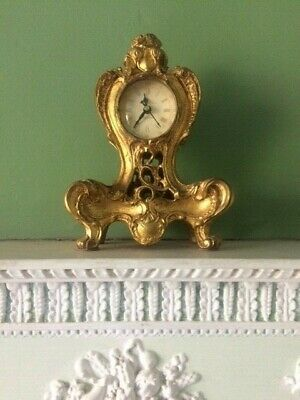 Richard Ward Winchester Reproduction 'Antique Gilt French'  style clock