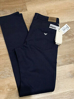 ARMANI JUNIOR BOYS JEANS Blue Age 14/ 16 Stetch Cotton BRAND NEW RRP £95