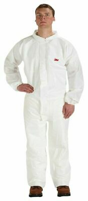 3M Disposable Protective Coverall 4510CS-BLK-L Size Large