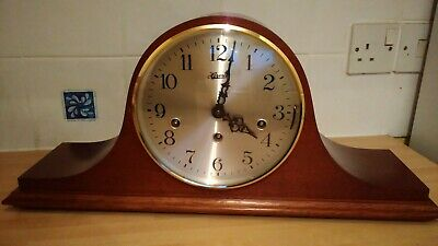 Westminster, Whittington & St. Michael Chiming Mantel Clock by Franz Hermle