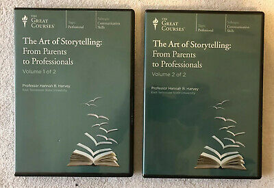 Great Courses: THE ART OF STORYTELLING, 2 Volumes, 2012