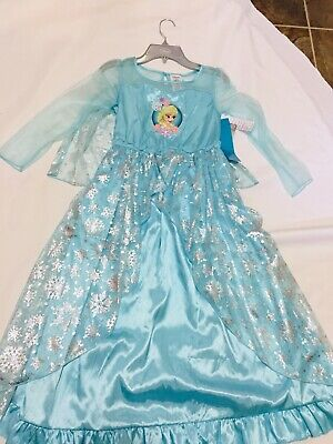 Disney Store princess deluxe nightgown sleepwear pajamas U CHOOSE NWT