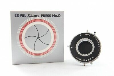 Near Mint Copal No.0 Shutter w/ Box from Japan *895247