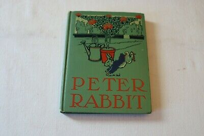 Rare Antique Book 1904 The Tale Of Peter Rabbit Henry Altemus Company