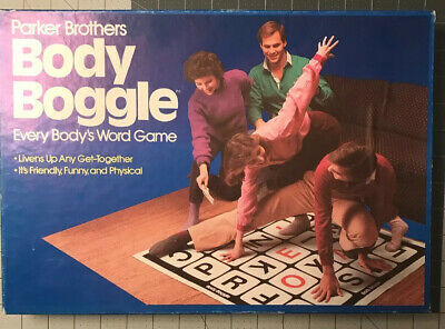 Body Boggle: Every Body's Word Game Parker Brothers 1984 Complete